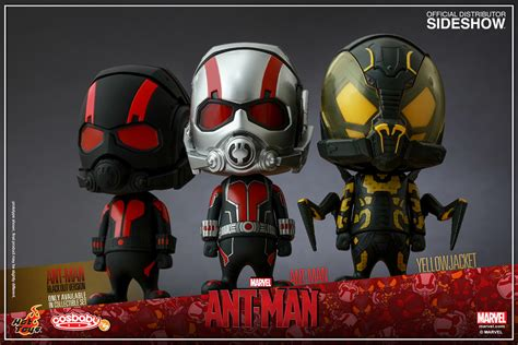 Masker Antman Set 3 marvel ant collectible set of 3 vinyl collectible by
