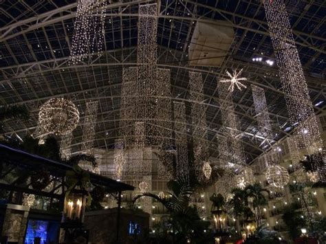 christmas lights picture of gaylord opryland resort