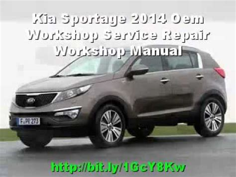 car repair manuals online pdf 2008 kia sportage security system kia sportage 2014 oem workshop service repair workshop manual youtube