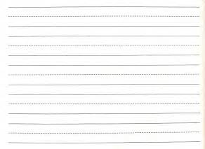 Sample writing paper writing paper with dotted and plane lines