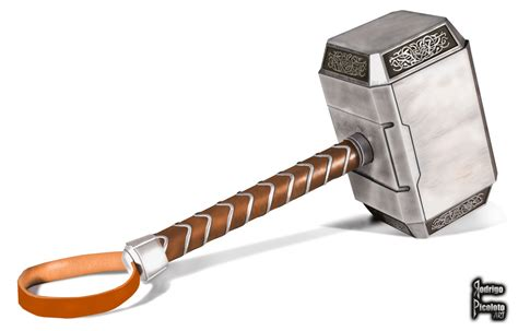 drawing thor s hammer in photoshop youtube