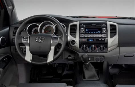 toyota tacoma interior 2017 2017 toyota tacoma made to offer a better look and more