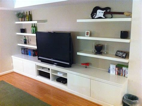 ikea besta wall unit ideas built in besta home theater ikea hackers ikea hackers