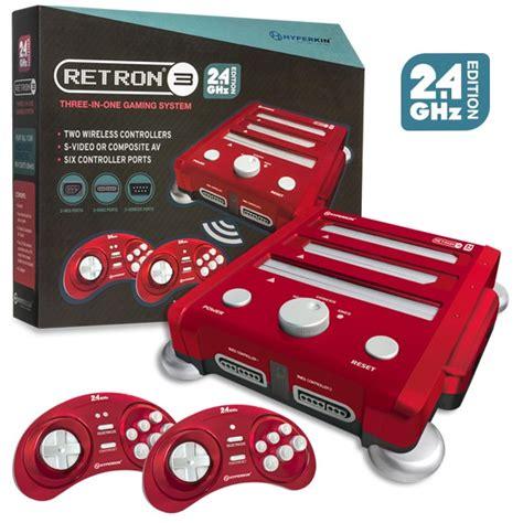 nintendo sega console retron 3 gaming console 2 4 ghz edition for snes genesis