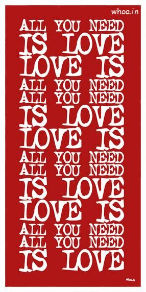 love quotes red hd wallpaper
