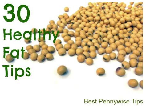 healthy fats soybean 30 healthy tips 11 20 how to choose healthy fats recipes