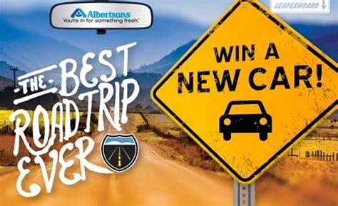 Albertsons Sweepstakes - albertsons enter to win a car valued up to 41 000 bestroadtripever