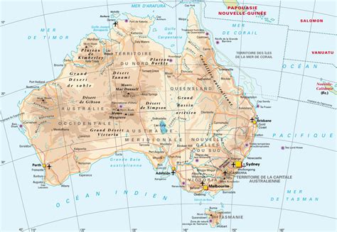 map of australia and cities detailed map of australia with highways cities and