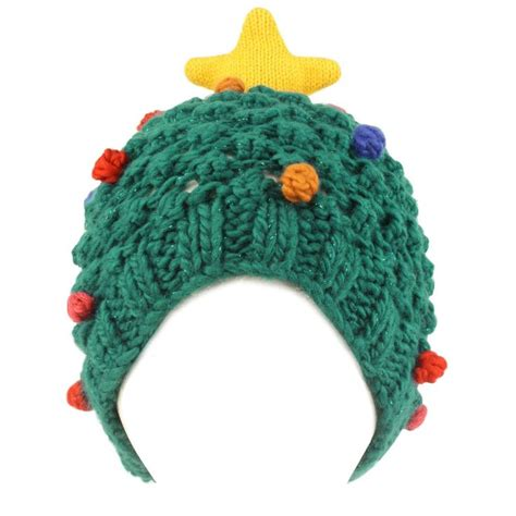 christmas tree beanie pattern amazon com christmas tree holiday star thick winter knit
