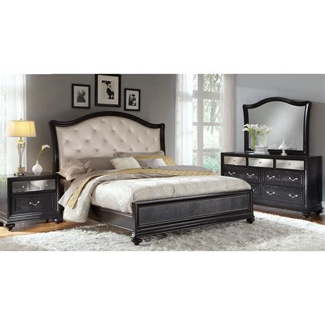 marilyn bedroom set the marilyn collection ebony value city furniture