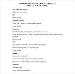 Business Letter Templates Free by Business Letter Template 43 Free Word Pdf Documents