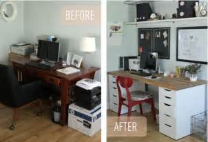 office makeover simple ikea office makeover