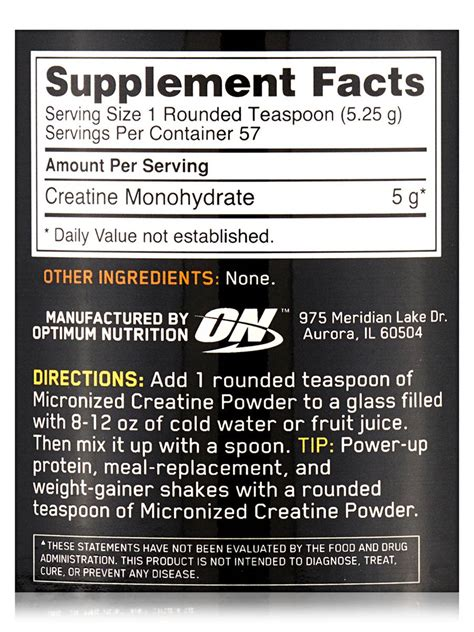 creatine nutrition facts creatine powder nutrition facts www pixshark