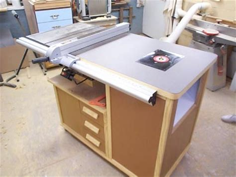 table saw router table woodworking plan table saw router table plans