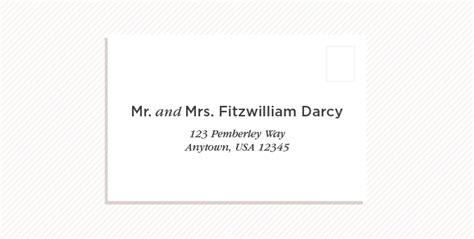 mr and mrs wedding invitation address wedding invitation etiquette how to address wedding