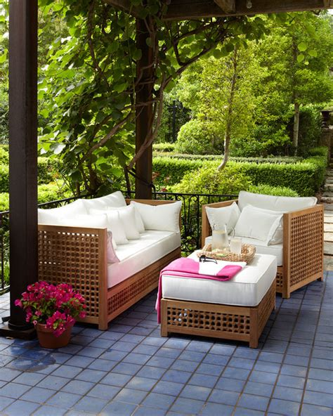 horchow outdoor furniture quot moroccan quot outdoor furniture patio furniture and outdoor furniture by horchow