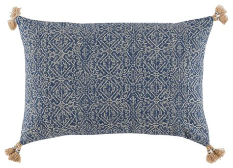 Tassels For Pillows by Lumbar Pillow With Tassels Mediterranean Decorative Pillows By Lacefield