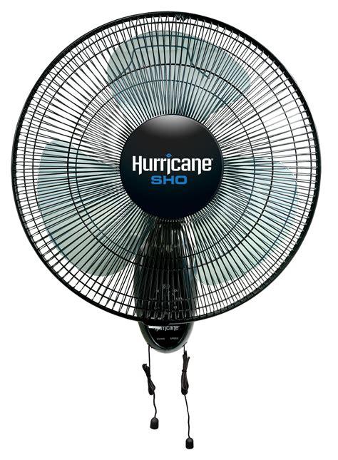 hurricane wall mount fan hurricane sho oscillating wall mount fan 16 in