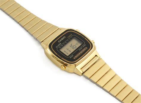 orologio oro casio casio oro donna orologio digitale la 670 wga la670w new