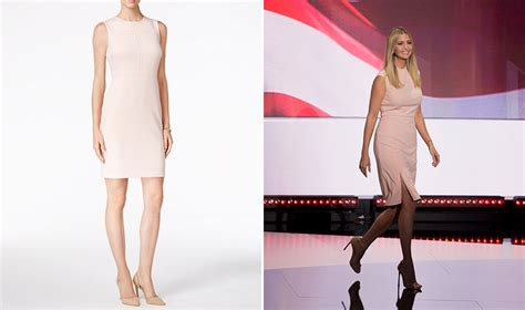 Ivanka Dress ivanka s rnc dress isn t available yet pret a reporter