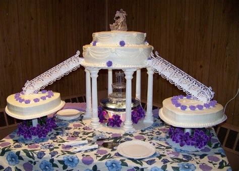Wedding Cakes With Fountains by Purple Wedding Cakes With Fountains Cake Healthy Food