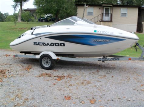 types of sea doo boats sea doo boat challenger 2006 for sale for 5 000 boats