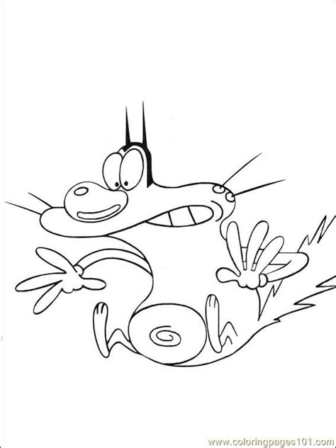 oggy coloring pages online oggy cockroaches 034 1 coloring page free oggy and the