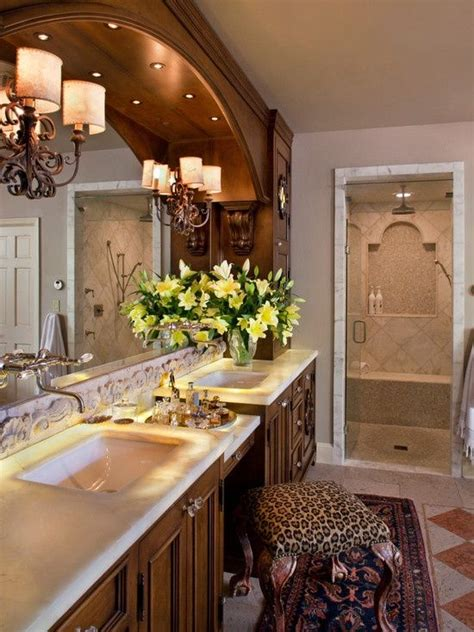 Mediterranean Bathroom Design Mediterranean Bathroom Design Home Living