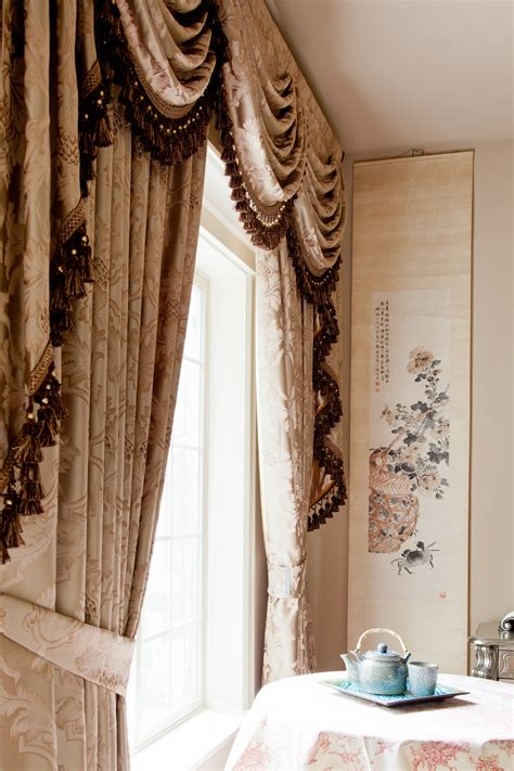 baroque curtains classic overlapping swag valances curtain drapes baroque