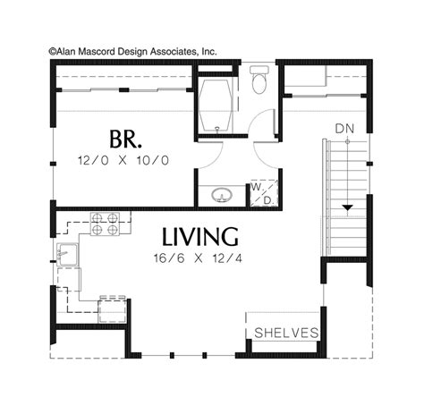 100 adu house plans above all house plans new homes 100 house plans with adu mascord house plan 5011 the