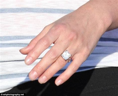 Engagement Ring Prices by Lindsay Price Flashes Ring After Getting