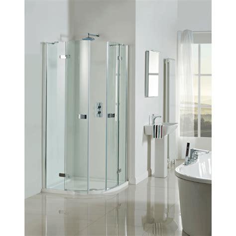 phoenix livello hinged quadrant frameless shower enclosure