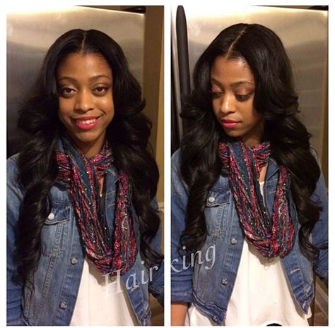 full sew in with middle part 1000 images about weave sew ins hairstyles on pinterest