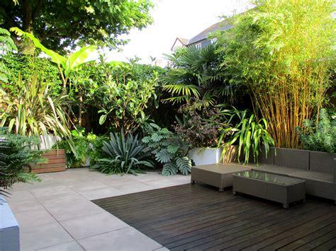 Garten Tropisch Gestalten by Garden Design By Post A Modern Tropical Garden In
