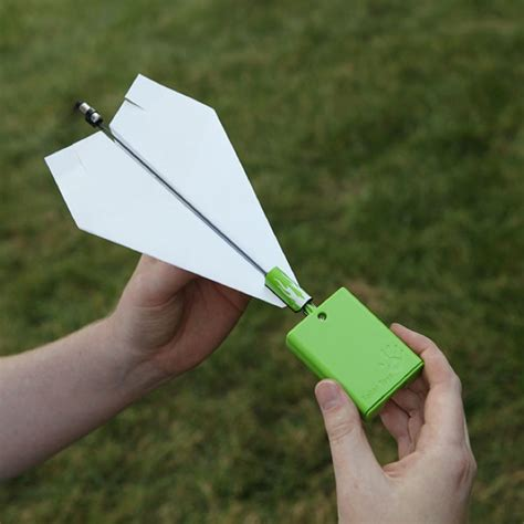 How To Make A Motorized Paper Airplane - electric propeller adds awesomeness to paper planes wired