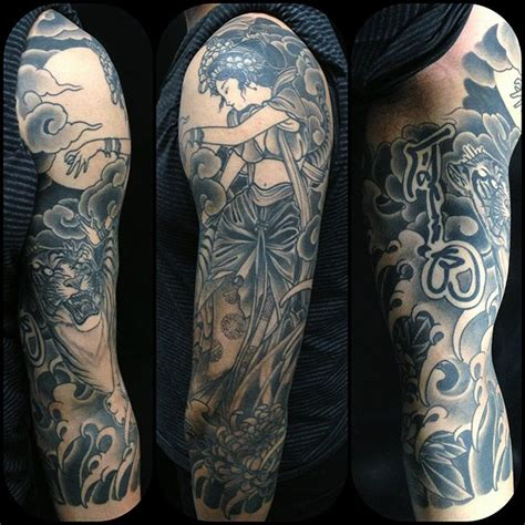 tattoo black and grey japanese japanese tattoo black and gray japanese art