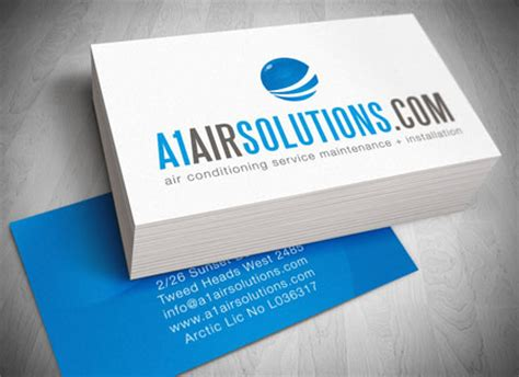 best air card gold coast logo website and letterhead and stationary design