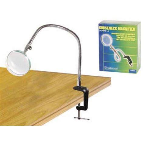 lada da tavolo con lente lente ingrandimento con morsetto da tavolo