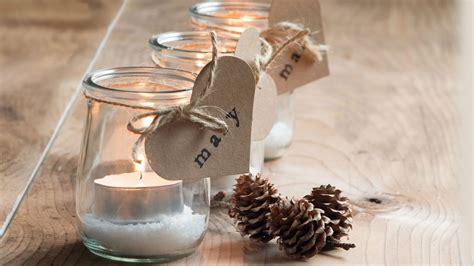 decorar botellas y tarros de cristal reciclar tarros de cristal en navidad decoraci 243 n