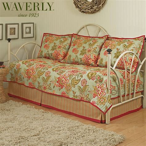 Daybed Quilt Sets Charismatic Ii Reversible Daybed Bedding Set By Waverly