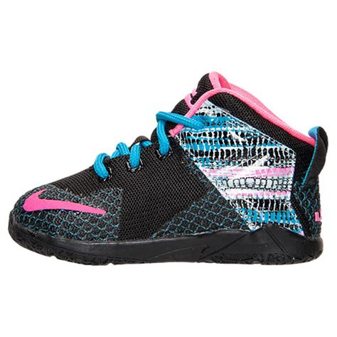 toddler lebron shoes nike zoom lebron 12 basketball shoes black pink pow