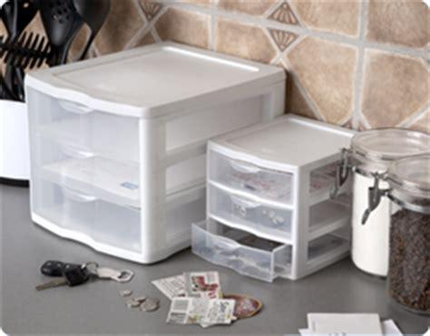 kitchen countertop storage drawers sterilite 2073 small 3 drawer unit