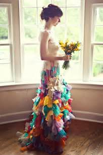colorful wedding wai ching wedding dresses colorful creative