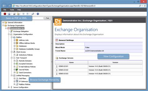 microsoft exchange inventory reporting documentation tool
