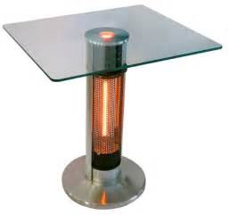 Patio Infrared Heaters Energ Bistro Table Infrared Electric Patio Heater Hea 1575j67l 2 Walmart Ca
