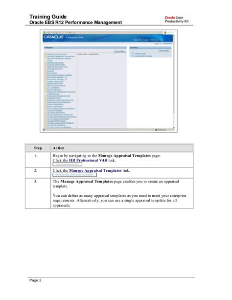 tutorial oracle administration training guide oracle ebs r12 performance management