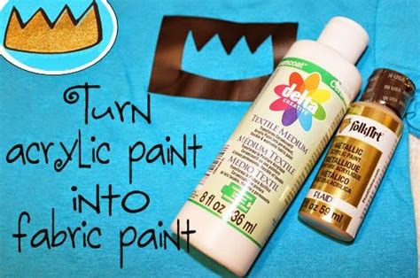 acrylic paint for fabric turn acrylic paint into fabric paint silhouette cameo