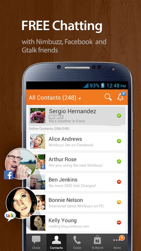 best messaging app for android top 3 instant voice messaging apps for android