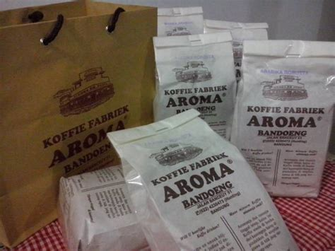 Kopi Aroma Koffie Fabriek Aroma Robusta 500gr kopi aroma bandung robusta daftar update harga terbaru