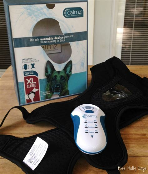 what to give dogs for anxiety calmz anxiety relief system for dogs a free solution for anxiety miss molly says